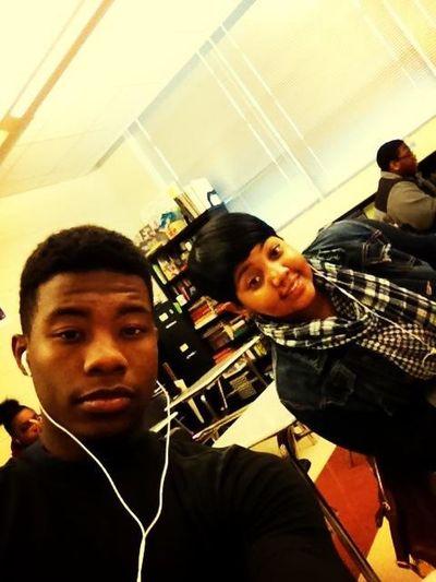 Me N My Big Sis In Class
