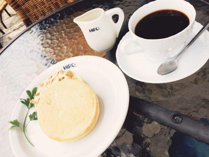 HIROcoffeeでモーニング😚💞 Hiro HIROcoffee Morning Breakfast EnglishMuffin Coffee