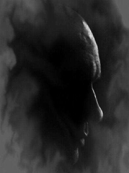 My portrait Silhouette Black And White Monochrome
