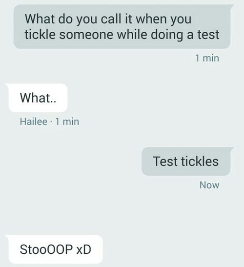 Funny Funny Texts Test Tickles Puns Joke