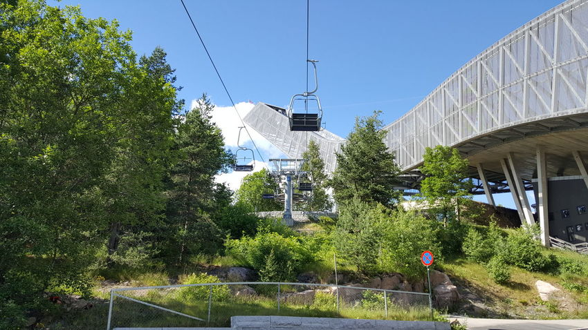 Holmenkollbakken is a large ski jumping hill located at Holmenkollen in Oslo, Norway. It has a hill size of HS134, a construction point of K-120, and a capacity for 70,000 spectators. Holmenkollen has hosted the Holmenkollen Ski Festival since 1892, which since 1980 have been part of the FIS Ski Jumping World Cup and 1983 the FIS Nordic Combined World Cup. It has also hosted the 1952 Winter Olympics and the FIS Nordic World Ski Championships in 1930, 1966, 1982 and 2011. The hill has been rebuilt 19 times; important upgrades include a stone take-off in 1910, an in-run superstructure in 1914, and a new superstructure in 1928. During the Second World War, the venue was used as a military installation, but upgraded in the late 1940s. Further expansions were made ahead of the 1966 and 1982 World Championships, as well as in 1991. Between 2008 and 2010, the entire structure was demolished and rebuilt. As of 8 February 2011, the hill record is unofficially held by Anders Jacobsen at 142.5 meters. The official hill record was set at 5 March 2011 by Andreas Kofler at 141 meters. The hill is part of Holmenkollen National Arena, which in addition to cross-country and biathlon venues has the normal hill Midtstubakken. Adrenaline Adrenaline Junkie Getting Inspired High Hill Holmenkollbakken Holmenkollen Olympic Olympicgames Olympics Ski Ski Jump Ski Jumping Ski Jumping Hill Ski Jumps Ski Lift Skiing Skijump Skijumping Speed Sport Sports Sports Photography The Purist (no Edit, No Filter) Winter Olympics