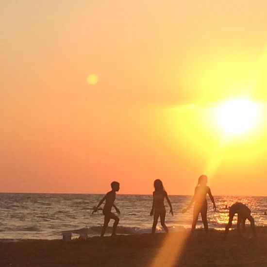 Sunset @ Halikounas beach. No filters where used. ❤️