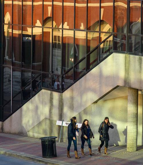 Reflections of the Ryman Auditorium in NASHVILLE,TENNESSEE Urban Geometry Urban Landscape EyeEm Best Shots Travel Photography This Is Where I Live... Nikon Nikon D5 Walking Music City