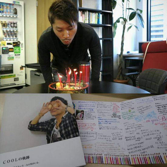 My birthday!! 🆒 Cool Contents Sushi Cake♥ Photobook Portrait That's Me Check This Out