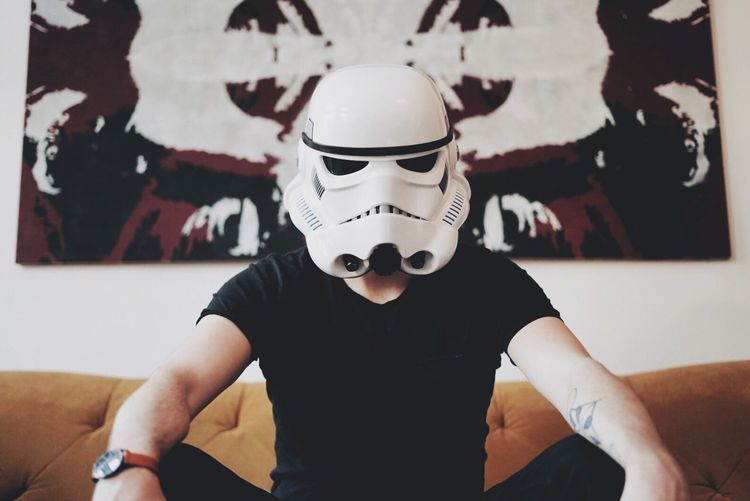 Mask - Disguise Portrait People Star Wars Symmetry Black Mask Lifestyle
