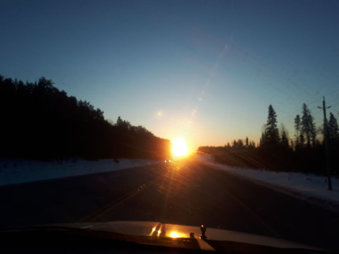 Car Driving Journey Lens Flare Road Road Trip Scenics Sun Vehicle Interior Winter