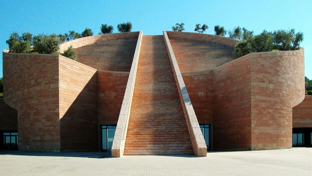 Architecture Winery Cantina Petra Tuscany Mario Botta Geometric Shapes The Architect - 2015 EyeEm Awards Amazing Architecture The Architect - 2016 EyeEm Awards