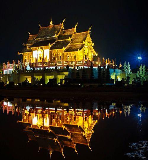 Amazing Architecture Royal Flora Ratchaphruek Chiang Mai | Thailand Thai Lanna Culture Thai Lanna Building Lanna Architecture