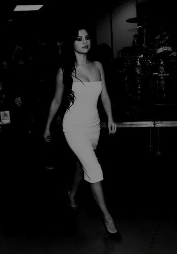 Selena Gomez  Black And White Revival First Eyeem Photo