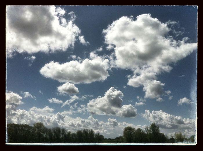 Clouds And Sky #sunset #sun #clouds #skylovers #sky #nature #beautifulinnature #naturalbeauty #photography #landscape NEM Submissions NEM Clouds