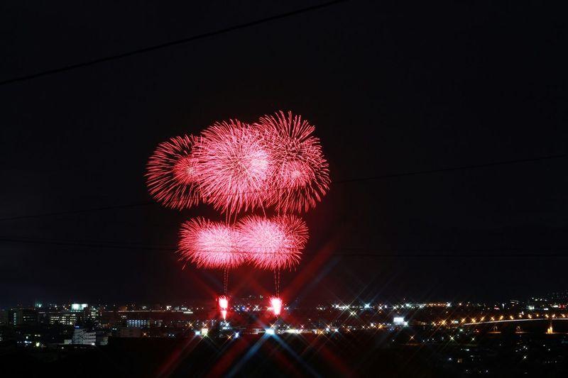 極寒の花火大会🎆やってます😆 Firework🎆 Fireworks Firework Nightphotography