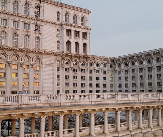 Architecture Pivotal Ideas Big Buildings Ugly Abstract Design Communism Ceausescu House Of Parliament Windows Columns