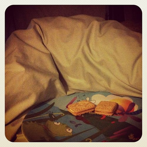 Breakfast in bed on #mothersday #custardcreams Mothersday Custardcreams