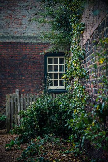 A corner of the garden at Fenton House, London Architectural Feature Architecture Day Garden Garden Photography Green Outside Secret Garden