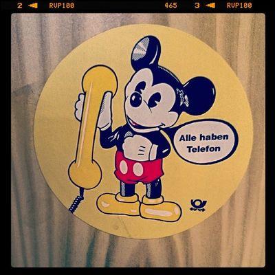 Wisst ihr noch wie's früher war? Ohne Handy? Mickeymouse Mickymaus Disney Oldschool