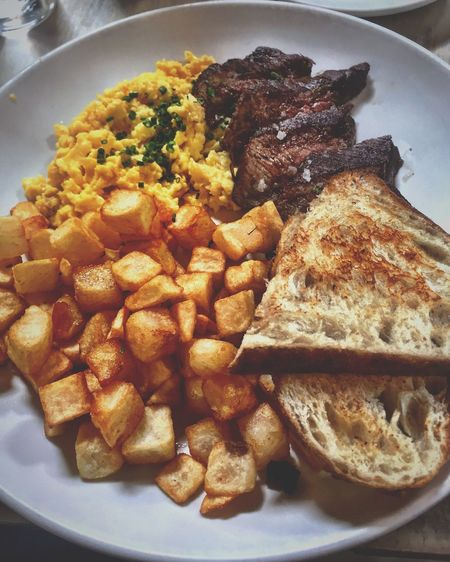 My Favorite Breakfast Moment EyeEm Best Shots EyeEm Breakfast Club Breakfast Food Foodphotography SteakAndEggs