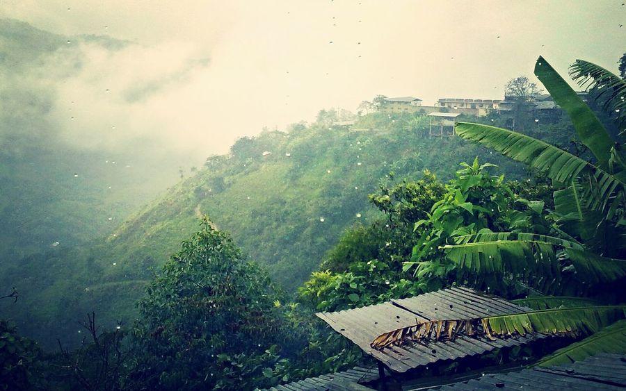 Lluvia intensa en Santo Domingo de la Capilla. Cajamarca-Perú Hello World Cutervo