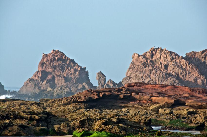 Cliff Eroded Geology Legzira Rock Rock Formation Scenics