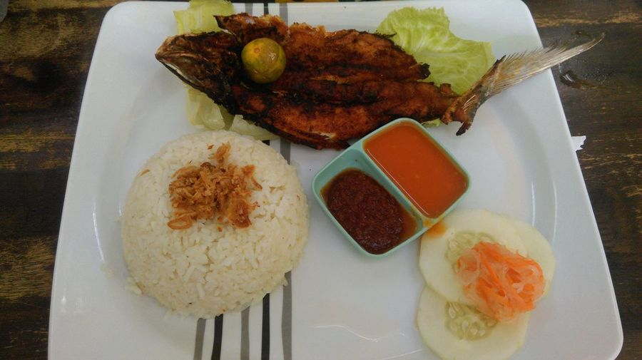 Sedap Baulu Dinner Food Freshness Healthy Eating Ikan Meal Pedas Ready-to-eat Rice - Food Staple Still Life Taste Vegetable