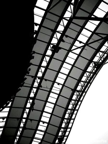 Panels Blackandwhite Train Station Japan The Minimals (less Edit Juxt Photography) Eye4black&white  Architecture