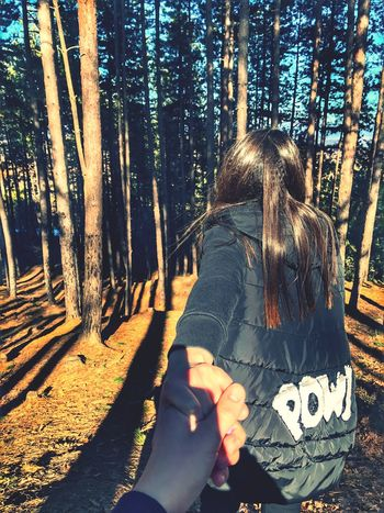 EyeEmNewHere Pow Forest Followme Real People Crazy Love In Forest Trees Day