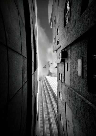 Looking up. Androidography Android Editors Lookingup Back Alleys