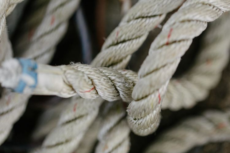 Braided Close-up Connection Day Durability Moored Nautical Equipment Nautical Vessel No People Outdoors Rope Strength Thick Tied Knot Tied Up