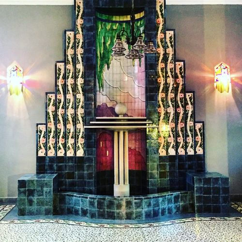 Architecture Indoors  Fountain Mexico Cdmx Museum Old House LaRoma ColoniaRoma Colors Color Colorful