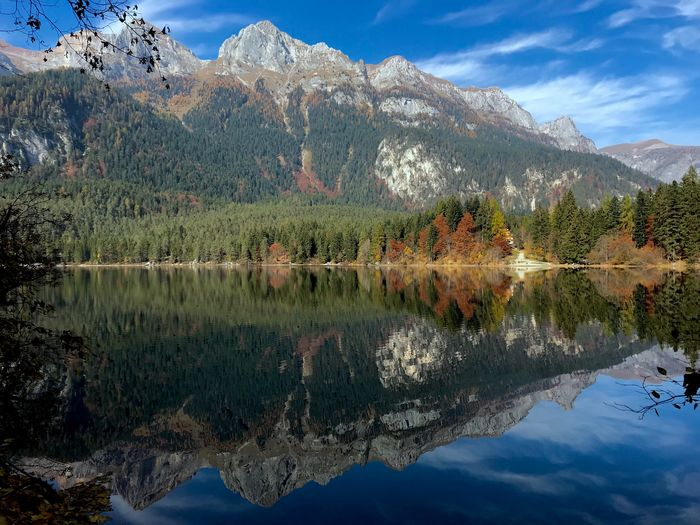 "Tovel Lake ""mirror view"" - North of Italy Landscape Reflection Water Lake Beauty In Nature Tranquility Scenics - Nature Mountain"