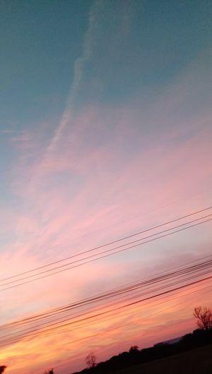 Sunset Backgrounds Water Pink Color Blue Desert Orange Color Dramatic Sky Sky Landscape