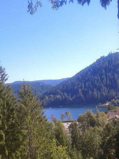 Gerardmer Vosges Lorraine Lac Lake Moutains Summertime september 2012
