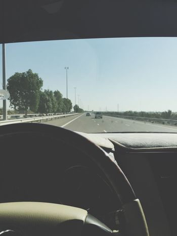 On my way to Alain