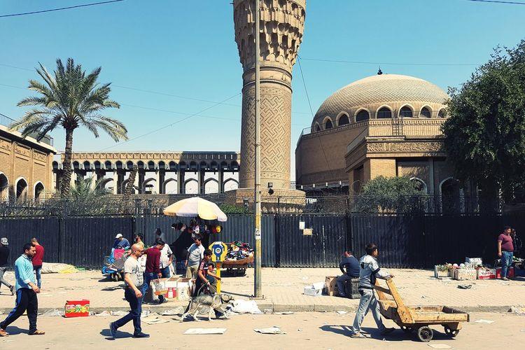 جامع الخلفاء .. بغداد galaxy s7 edge EyeEmNewHere Baghdad Baghdad , Lraq Baghdad Streets Baghdadi 🌸