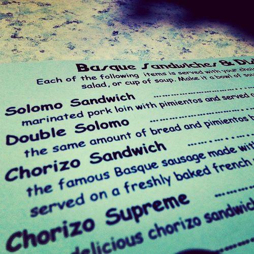 Basque Food oh Boise ive missed you @bargernika Bargernika