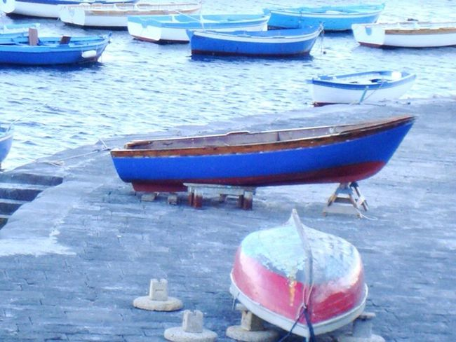 Napoli Harbour Blue Travel Photography Special Moment OceanCity Greatlight Happiness Mediterranean  Zen Attitude