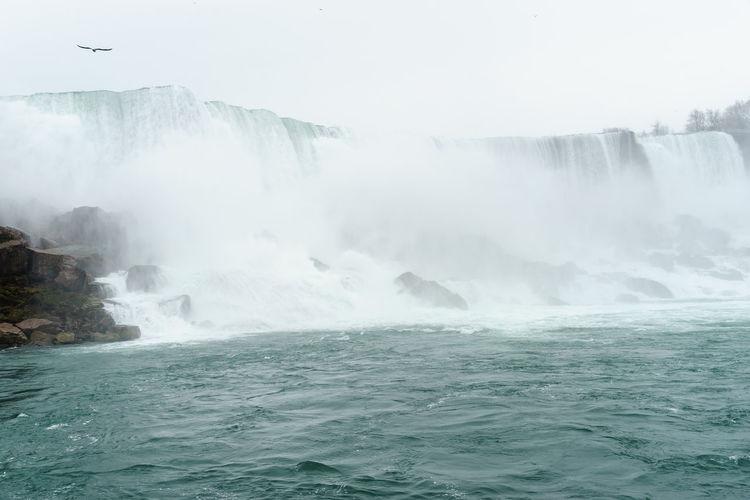 America Break The Mold Falls Landmark New York Niagara Niagara Falls Sightseeing Tourist Travel Water