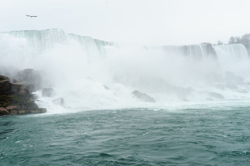 America Break The Mold Falls Landmark New York Niagara Niagara Falls Sightseeing Tourist Travel Water
