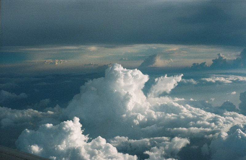 Cloud - Sky Scenics - Nature Beauty In Nature Sky Tranquil Scene Tranquility Nature No People Cloudscape Day Outdoors Aerial View Idyllic White Color Environment Blue Fluffy Backgrounds Softness Above Meteorology