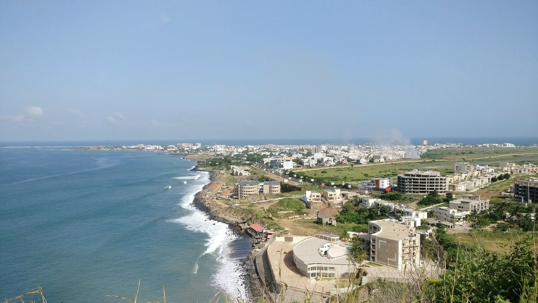 Sea City Cityscape Water Outdoors Dakar Senegal Africa
