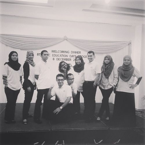 At night, we go crazy. Well done team for the quick and exciting ice breaking. IPTC 2014