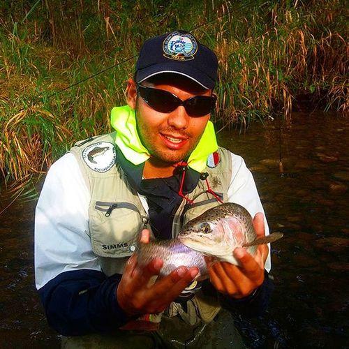 Sguish Pescaamosca Flyfishing  Fly Flyfishingnation Instaflying Rainbowtrout Wild Photooftheday