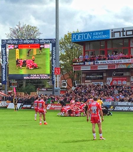 Insane pressure in the final moments Gloucester Rugby Great Performance