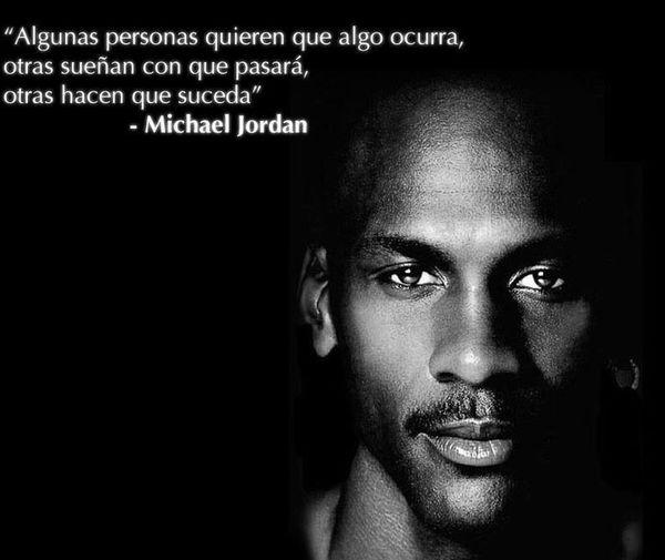 Cierto!!!! Michael Jordan