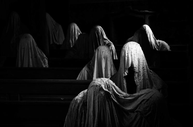 Ghosts in the church