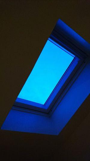 Blue Moment Window Roof Window Blue Is Beautiful