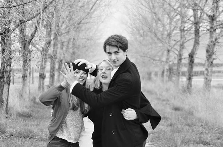 Selfies EyeEm Best Shots Shootermag Bw_collection Blackandwhite Fine Art Photography Baylands Park Sunnyvale Siblings Fun Bonding Happiness Togetherness Friendship My Year My View Family