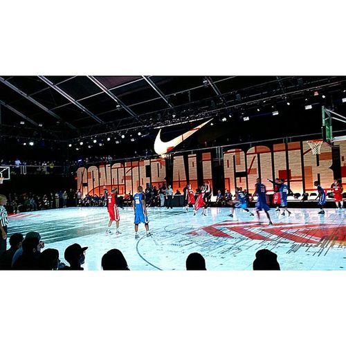 NBAAllstar so far best activation yet. Nike is just killing it. Jumpman killed it today too.