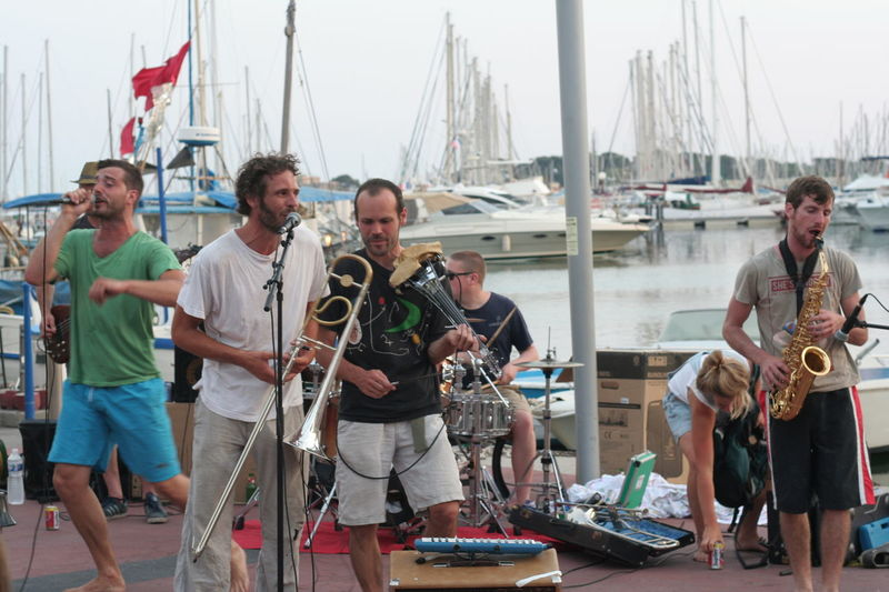 Concert Concert Photography Concertphotography Day Fete De La Musique Friendship Leisure Activity Music Musicians Musicians Life Nautical Vessel Person Port Water
