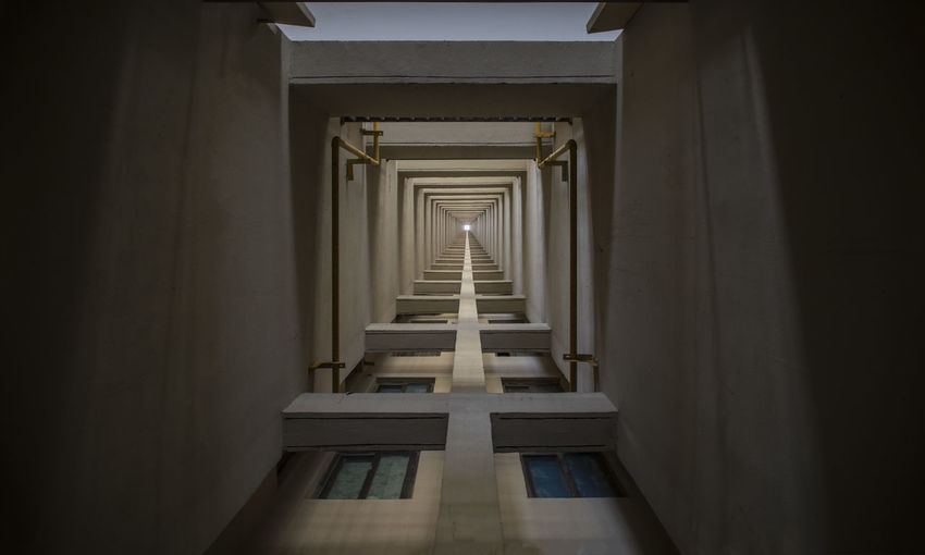 look up High Architectural Column Architecture Built Structure Day In A Row Indoors  Look Up No People The Way Forward