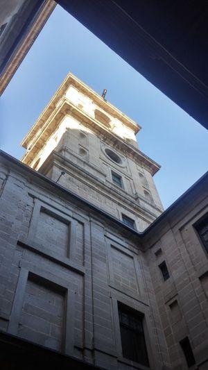 El Escorial Basilica Monestary Architecture Built Structure
